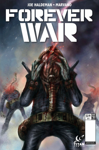 The Forever War #3 (Percival Cover)