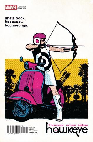 Hawkeye #1 (Aja Cover)