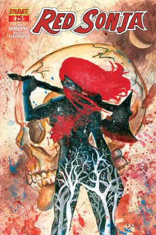 Red Sonja #15 (Matt Brooks Contest Winner Cover)