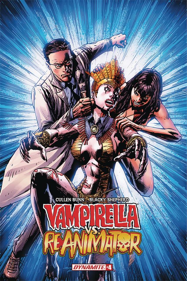 Vampirella vs. Reanimator #4 (Desjardins Cover)