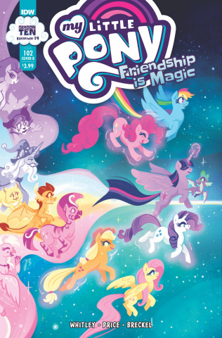 My Little Pony: Friendship Is Magic #102 (Justasuta Cover)