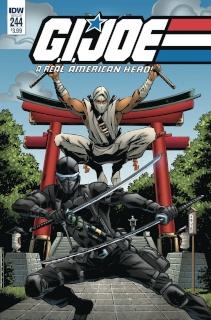 G.I. Joe: A Real American Hero #244 (Gallant Cover)