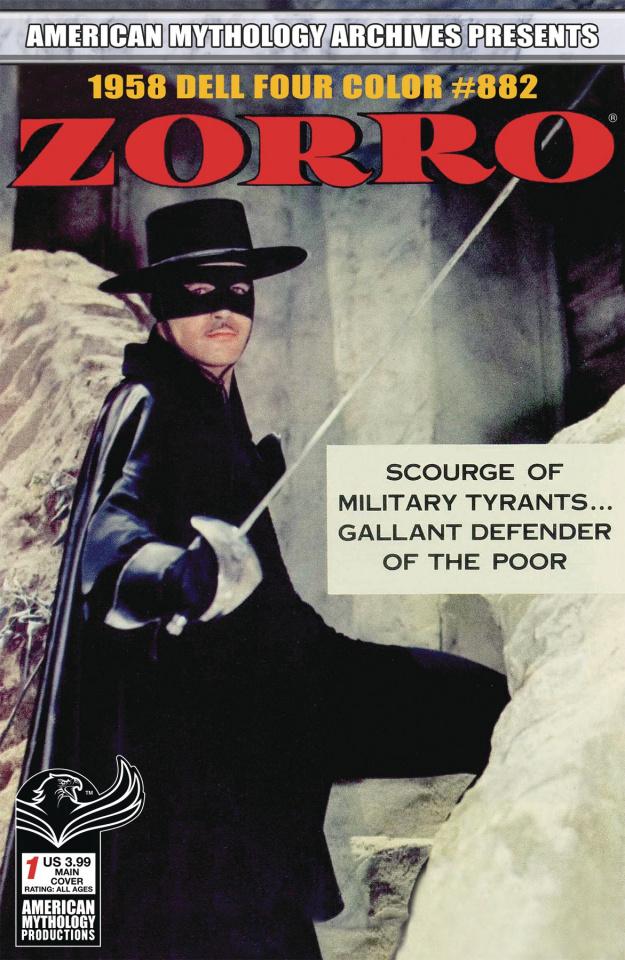 Zorro 1958 Dell Four Color #882