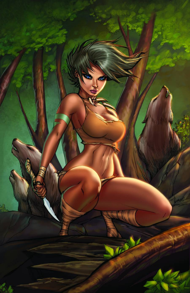 Grimm Fairy Tales: The Jungle Book - Last of the Species #1 (Garza Cover B)