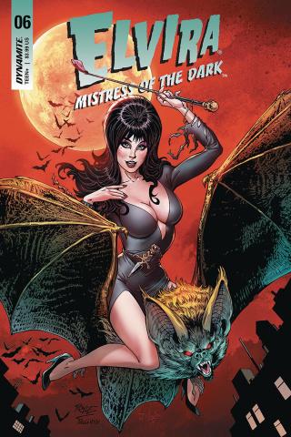 Elvira: Mistress of the Dark #6 (Royle Cover)