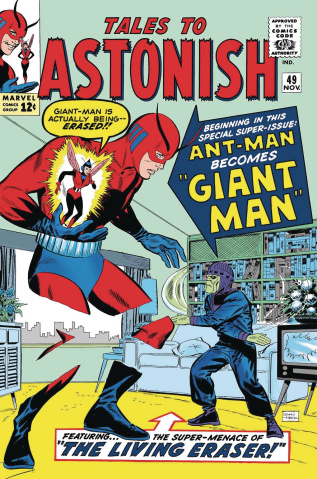 Ant-Man & The Wasp: The Birth of Giant-Man #1 (True Believers)