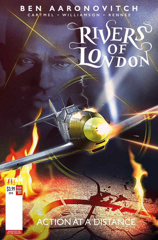 Rivers of London #1 (Action At A Distance Cover)