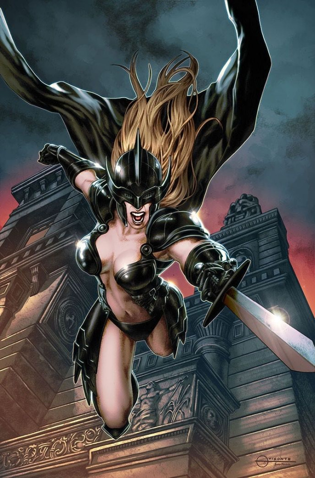 Black Knight #3 (Vigonte Cover)