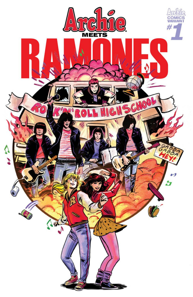 Archie Meets the Ramones (Veronica Fish Cover)