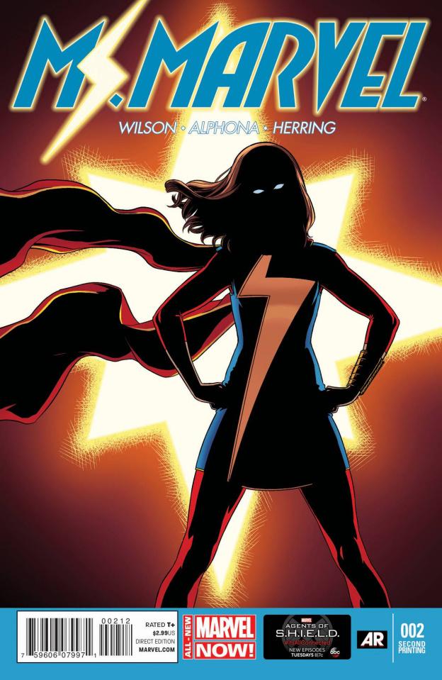Ms. Marvel #2 (2nd Printing)