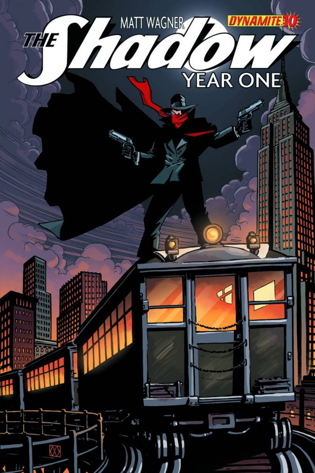 The Shadow: Year One #10 (Wagner Cover)