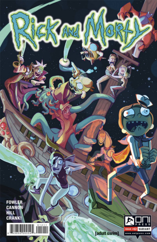 Rick and Morty #12 (Rodriguez Cover)