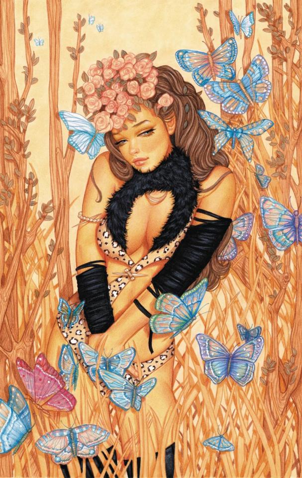 Cavewoman: Battle Ankha's Brood #1 (Valentina Cover)