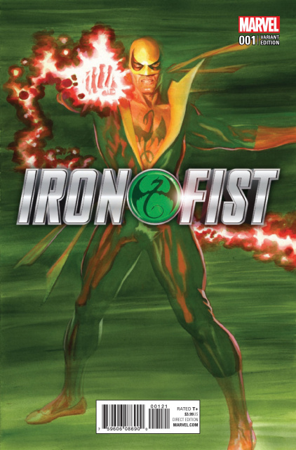 Iron Fist #1 (Ross Cover)