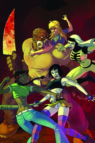 Hack/Slash #24 (Gaston Cover)