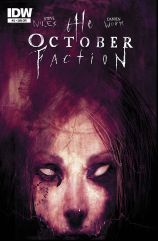 The October Faction #12 (Subscription Cover)
