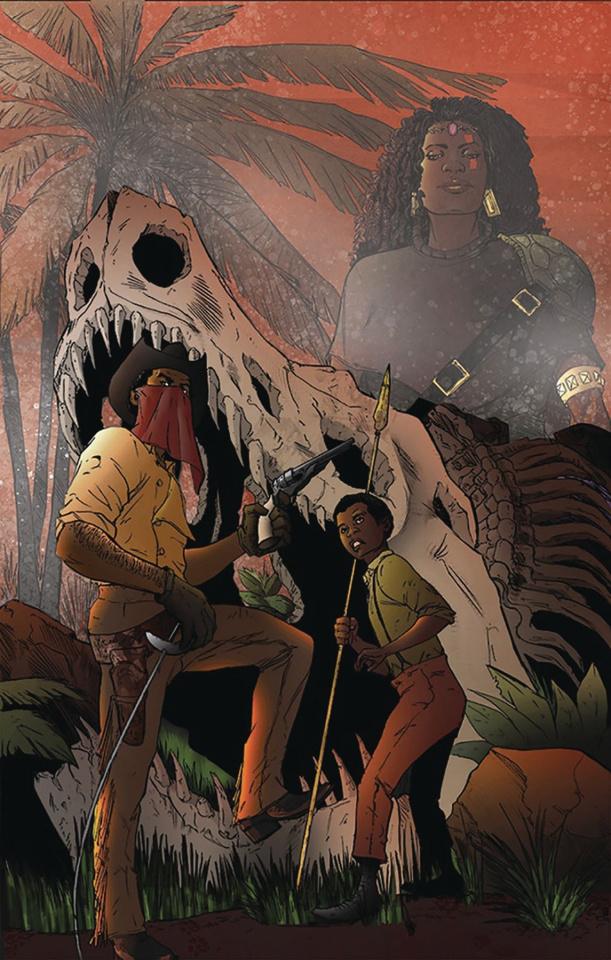 Red Range: Pirates of Fireworld #1 (Steven Harris Cover)
