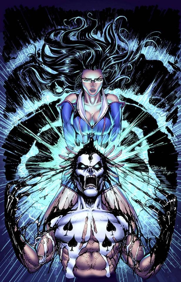 Grimm Fairy Tales vs. Wonderland #3 (Leister Cover)