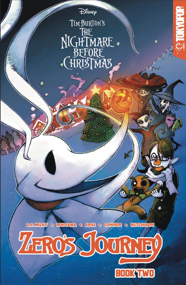 The Nightmare Before Christmas: Zero's Journey Vol. 2