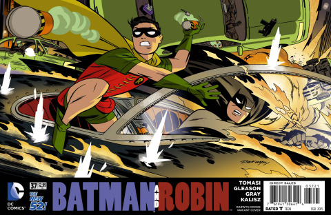 Batman and Robin #37 (Darwyn Cooke Cover)
