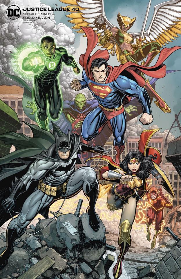 Justice League #40 (Card Stock Arthur Adams Cover)