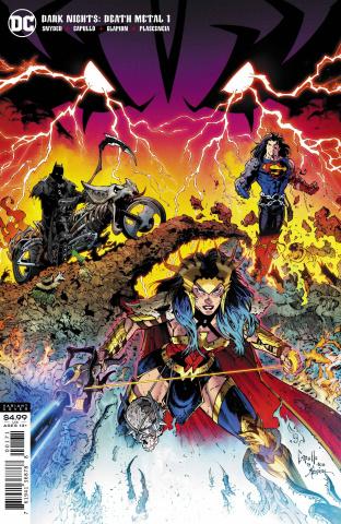 Dark Nights: Death Metal #1 (1-in-100 Capullo Cover)