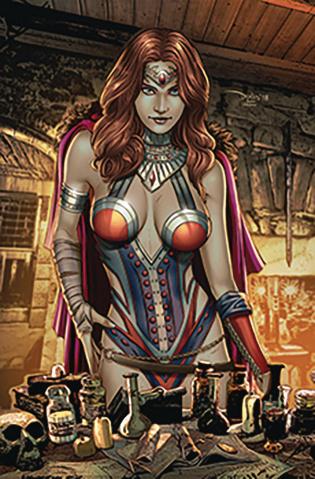 Grimm Fairy Tales #21 (Santacruz Cover)