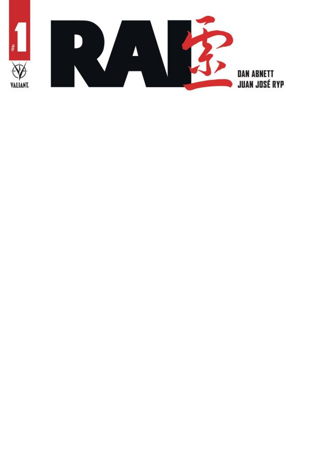 Rai #1 (Blank Sketch Cover)