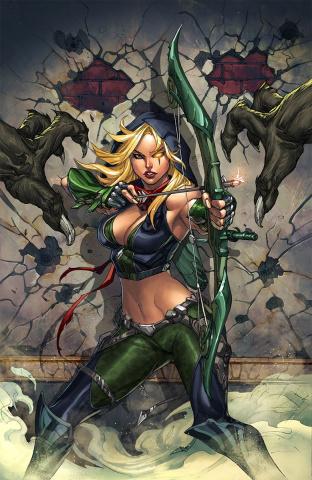 Grimm Fairy Tales: Robyn Hood - I Love NY #3 (Pantalena Cover)