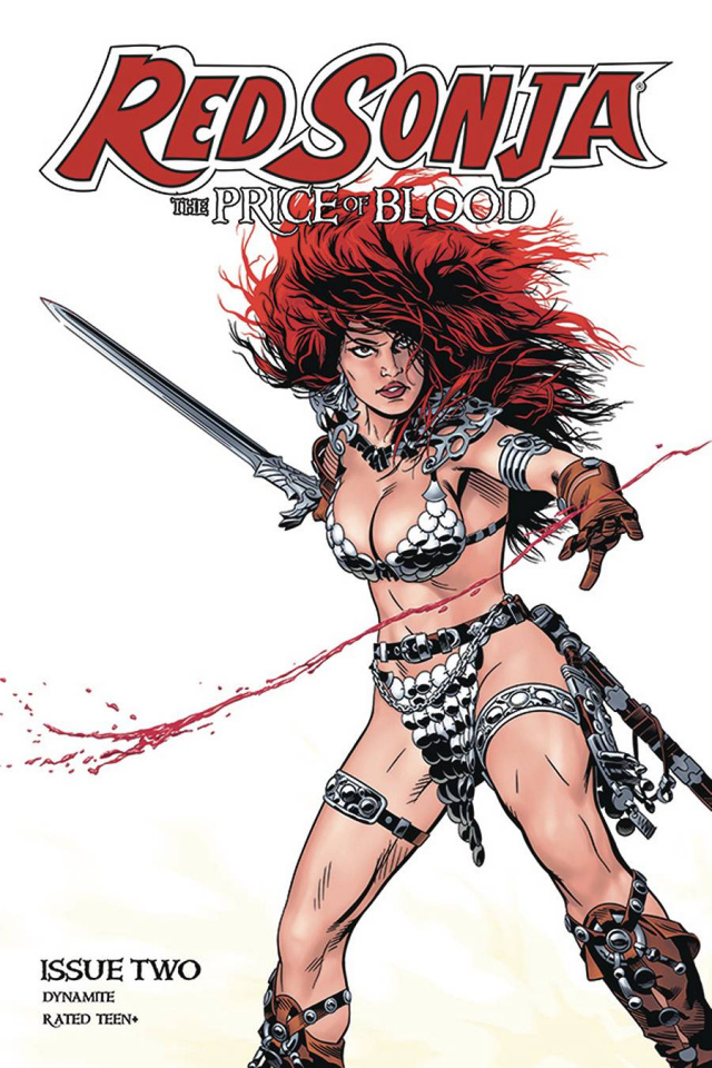 Red Sonja: The Price of Blood #2 (Golden Cover)