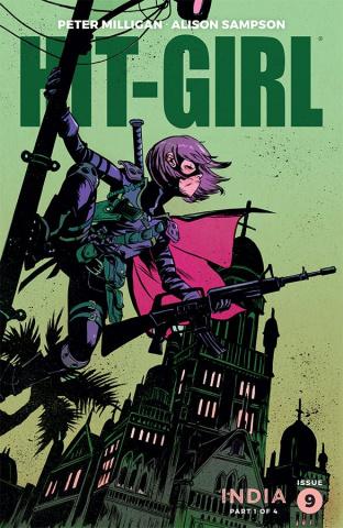 Hit-Girl, Season Two #9 (Greene Cover)