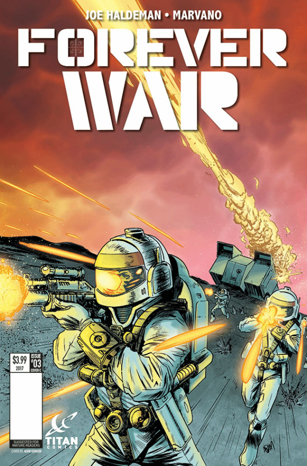 The Forever War #3 (Gorham Cover)