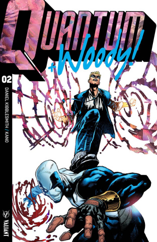 Quantum & Woody #2 (Ultra Foil Chase Shaw Cover)