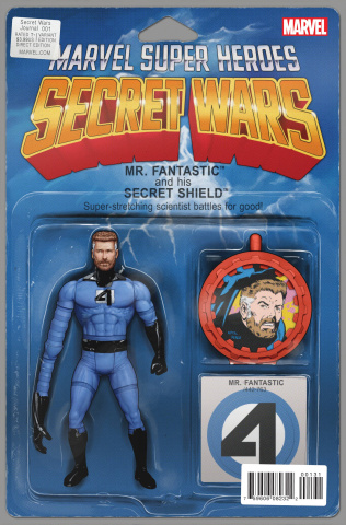 Secret Wars Journal #1 (Action Figure Cover)