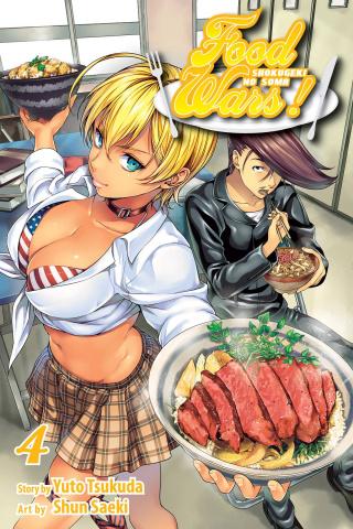 Food Wars! Shokugeki No Soma Vol. 4
