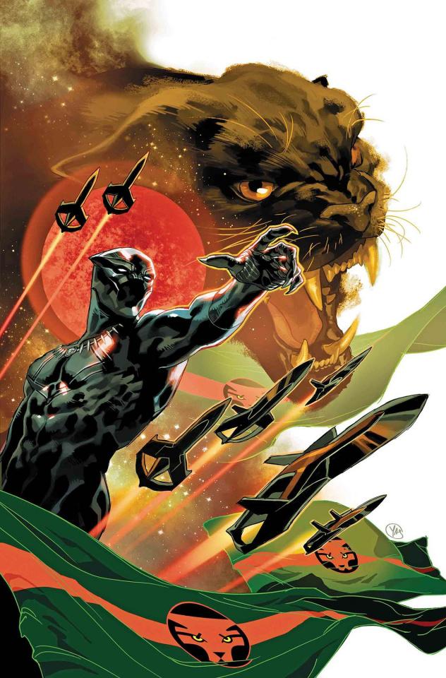 Black Panther #1 (Putri Cover)