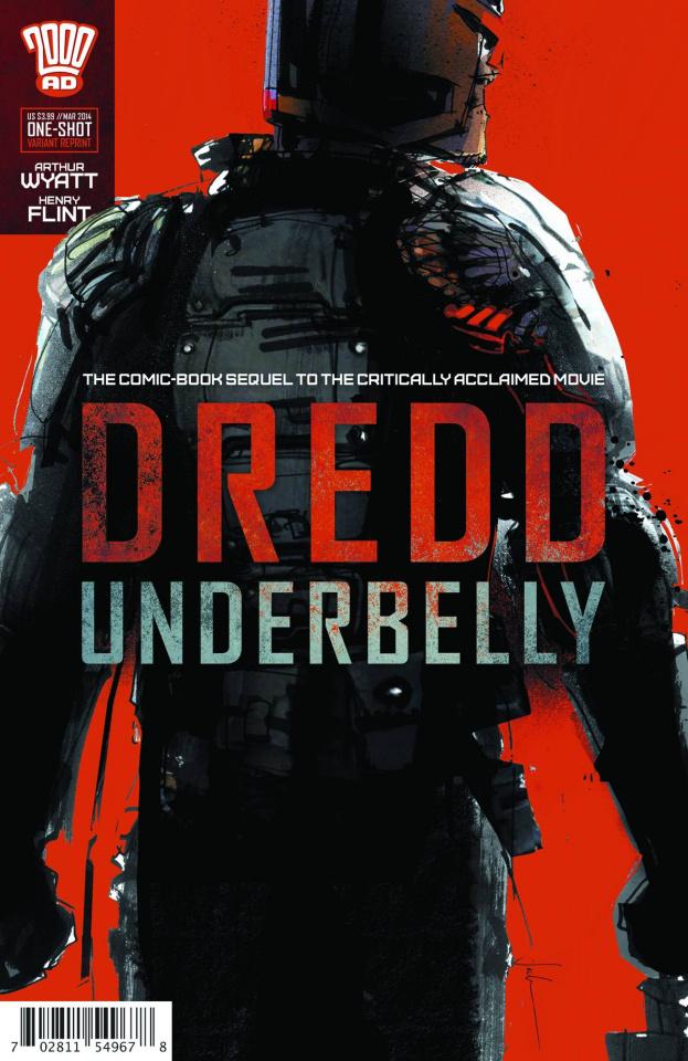 Dredd: Underbelly Movie Sequel (2nd Printing)