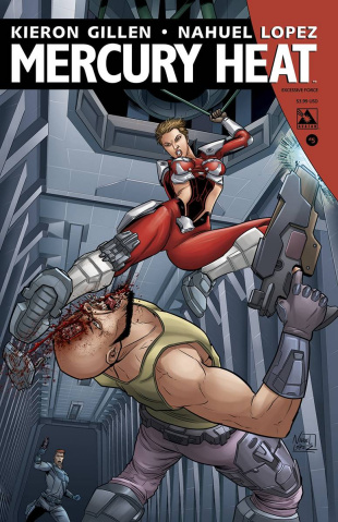 Mercury Heat #5 (Excessive Force Cover)