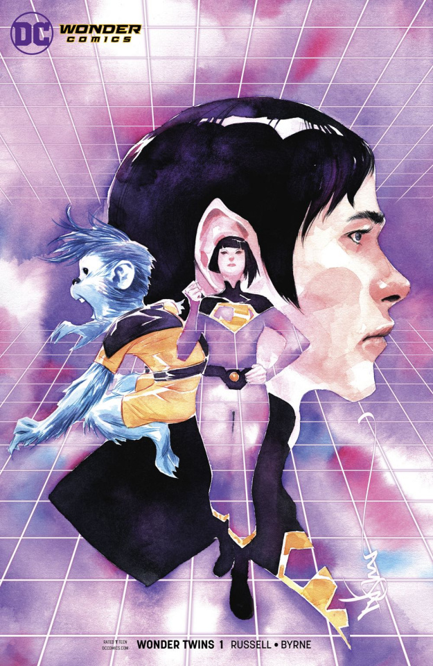 Wonder Twins #1 (Variant Cover)