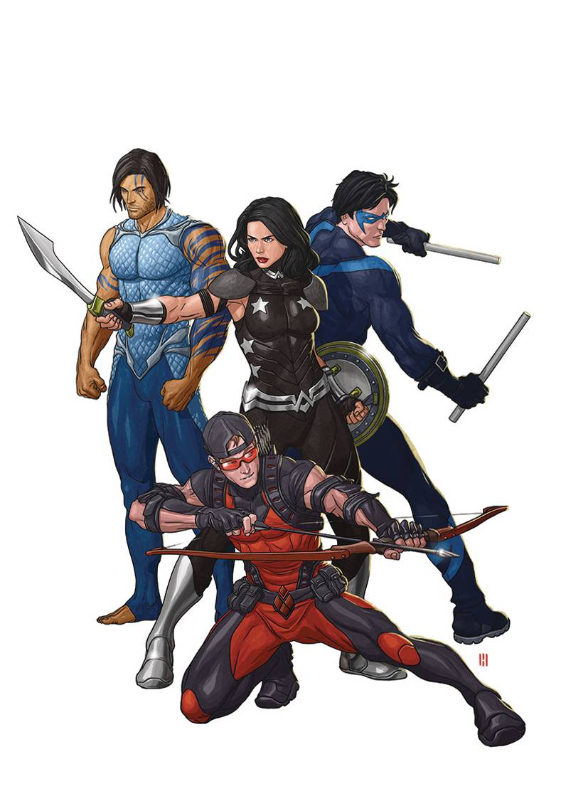 Titans Rebirth 1 Variant Cover  Fresh Comics-9719