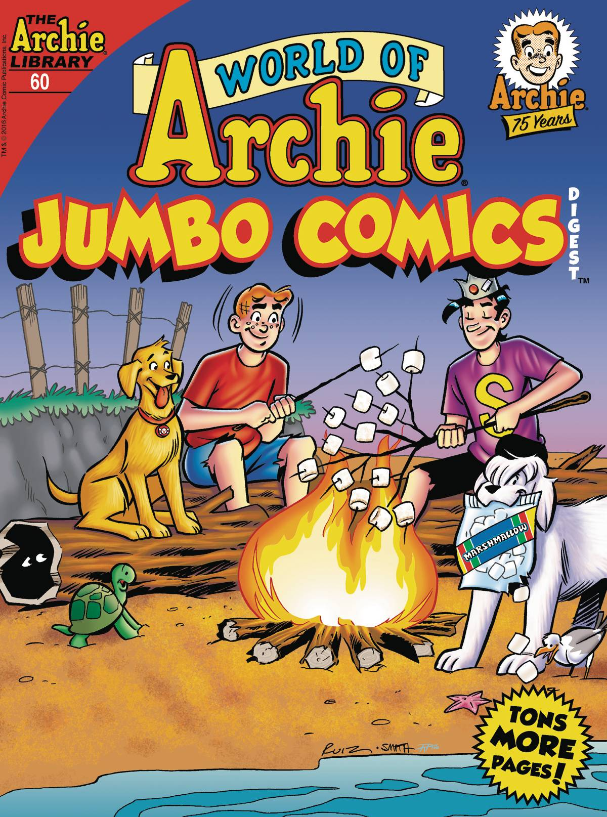ARCHIE JUMBO COMICS LIBRARY THE ARCHIE LIBRARY 60 BRAND NEW