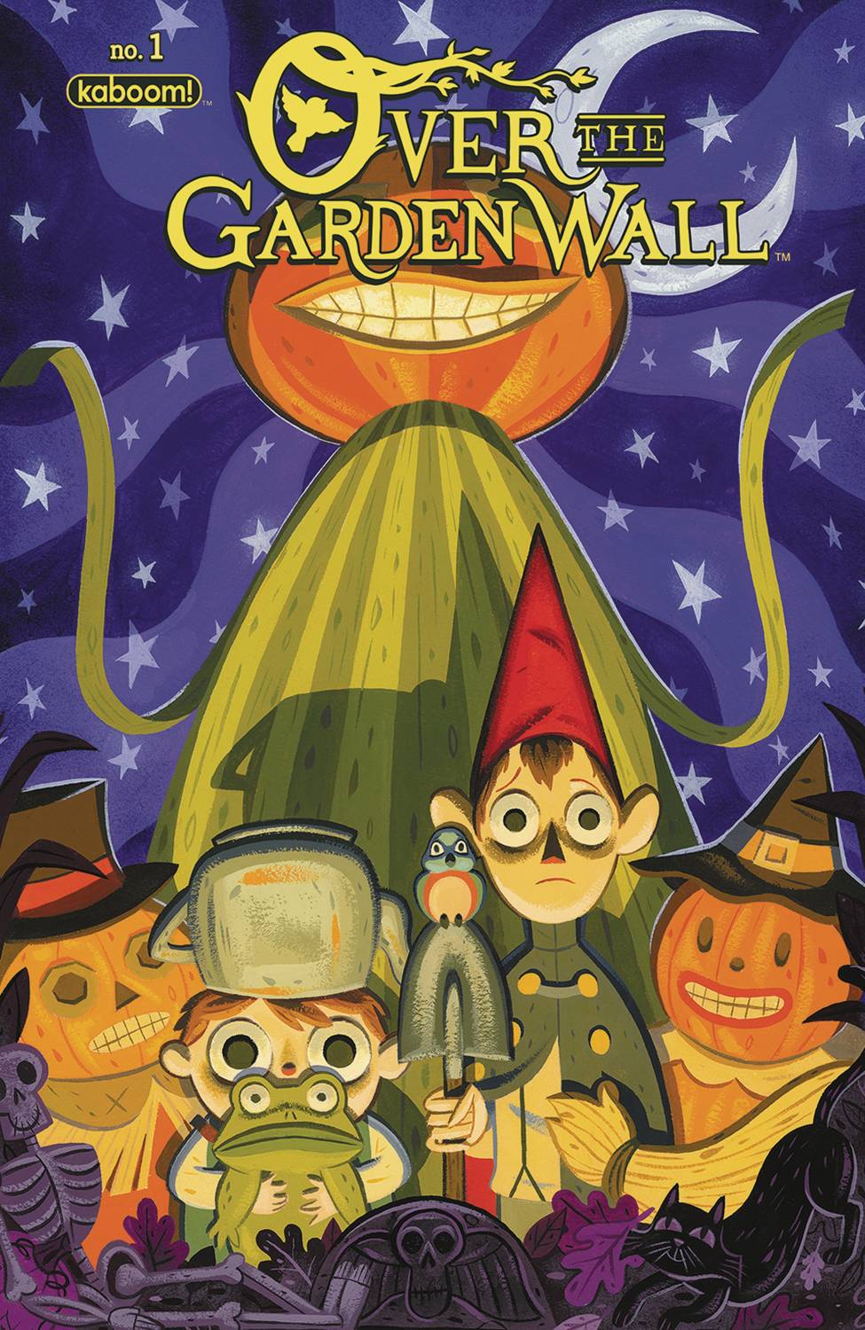 over the garden wall 1 2nd printing - Over The Garden Wall Poster