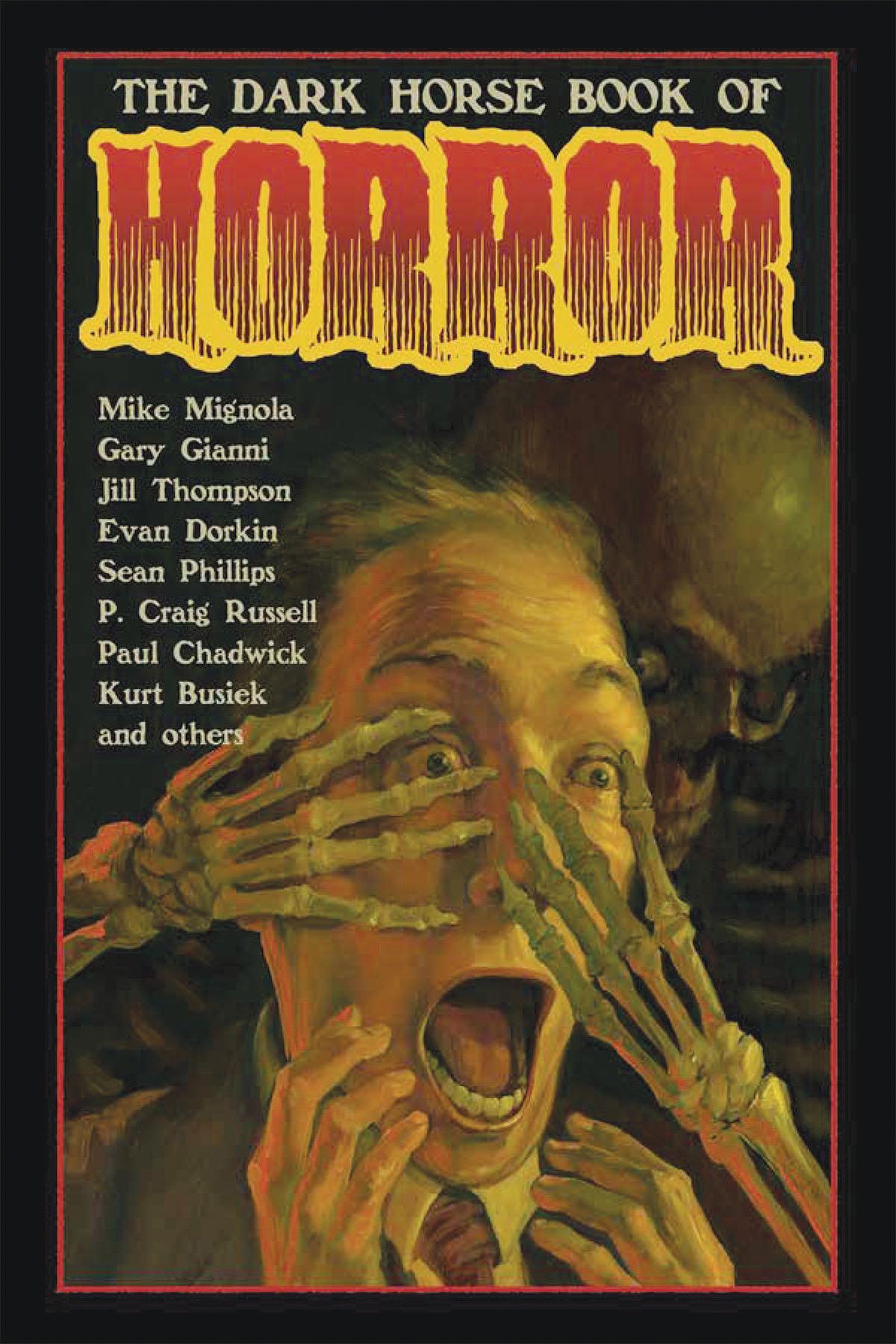 the dark horse book of horror fresh comics. Black Bedroom Furniture Sets. Home Design Ideas