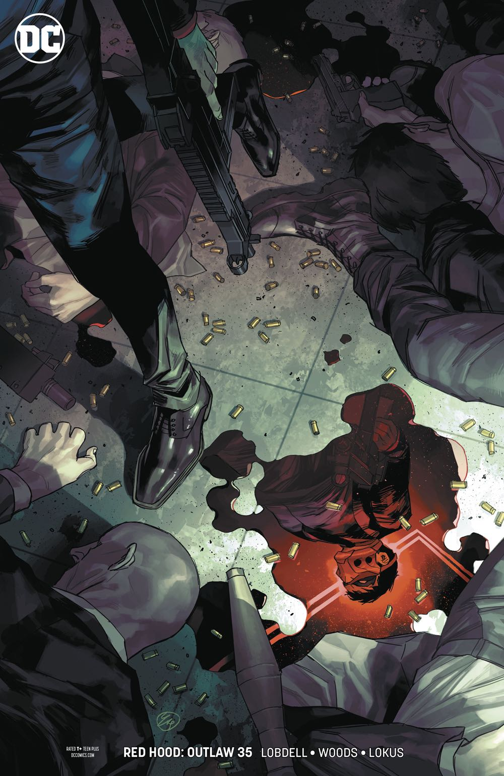 Red Hood Outlaw 35 Variant Cover Fresh Comics