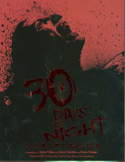 30 Days of Night: Movie Scriptbook | Fresh Comics