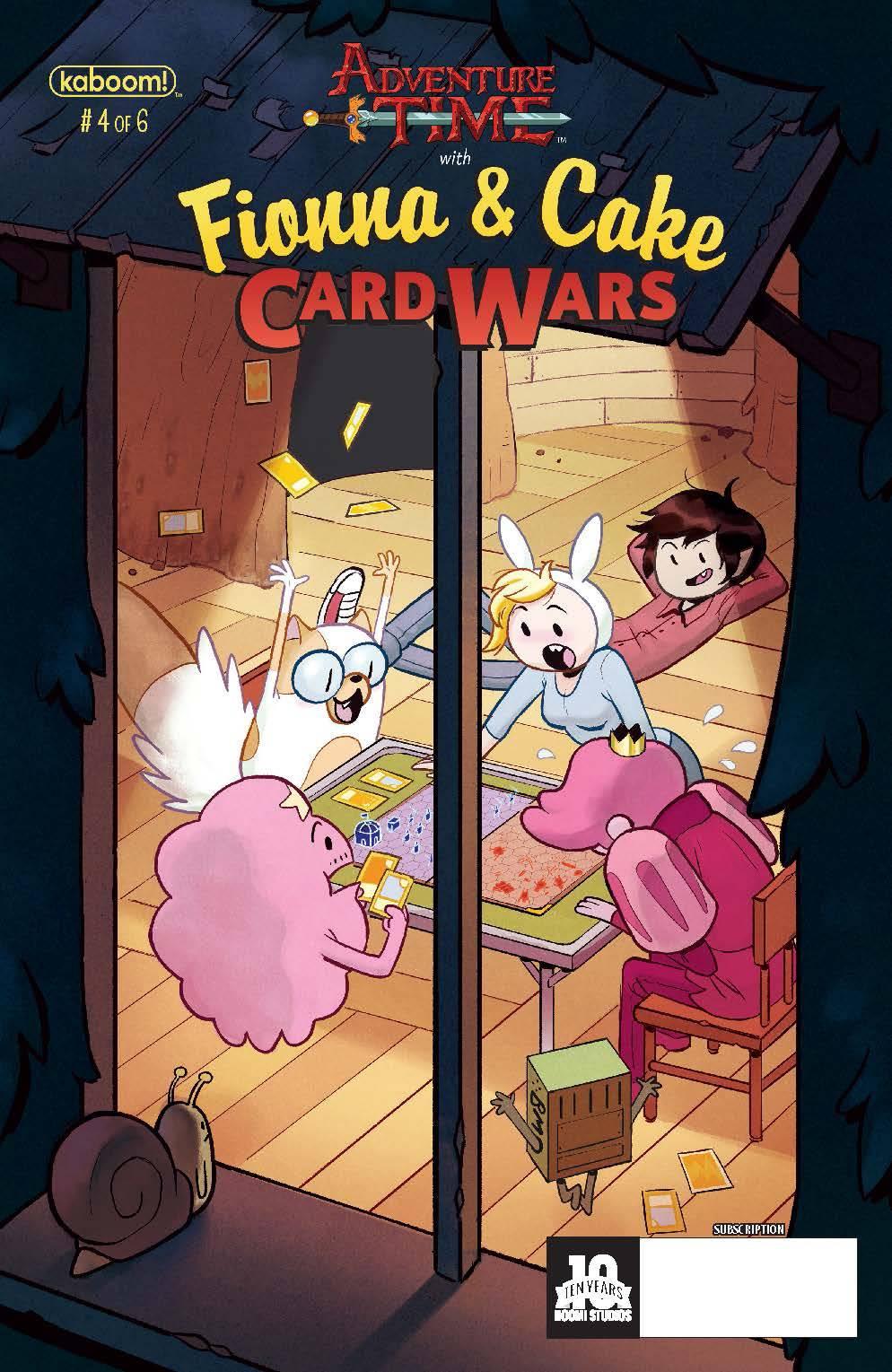 Fionna And Cake Card Wars Comic