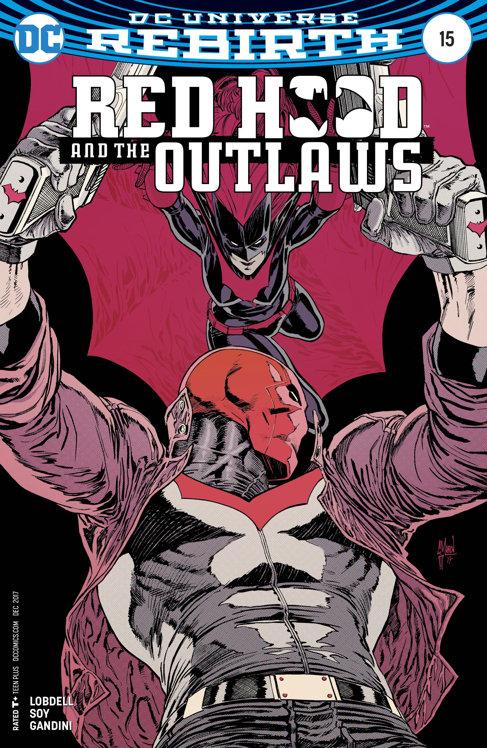 Red Hood And The Outlaws 15 Variant Cover Fresh Comics