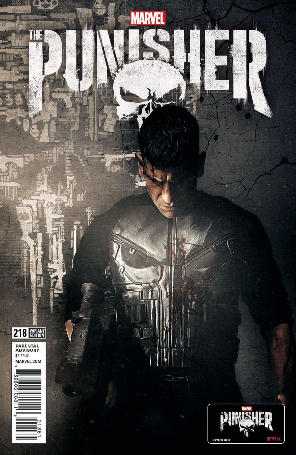 The Punisher 218 Tv Cover Fresh Comics