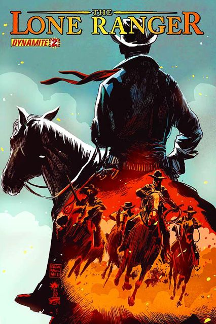 the lone ranger 2 fresh comics