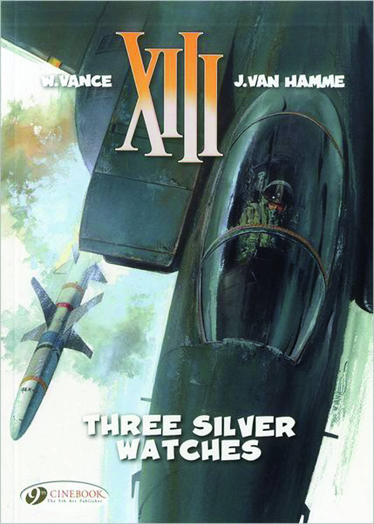 Xiii vol 11 three silver watches